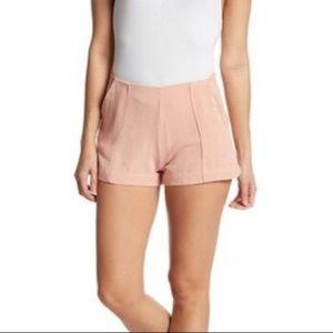 Good Luck Gem Blush Pink Shorts Size M NWOT
